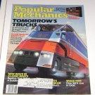 Popular Mechanics Magazine June 1986 Tomorrows Trucks 18-wheelers
