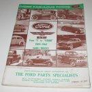 Joblot Automotive Inc FORD Mercury Thunderbird cars/trucks parts catalog 1973