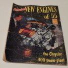 Car Life Annual 112 1955 Magazine Fabulous New Engines of 55