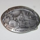 St Marys Aleppo Kansas Belt Buckle 1890 ~ 1990