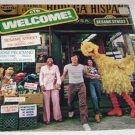 SESAME STREET  JIM HENSON JOSE FELICIANO  CTW  WELCOME Vinyl  LP 1978
