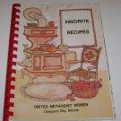 Favorite Recipes United Methodist Women Crescent City Illinois Cookbook 1987