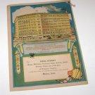 "Swamp Root Almanac ""Dream Book"" 1934 Carl Stenby Malmo Nebraska"