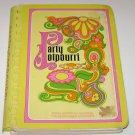 Junior League of Memphis TN Cookbook 1971