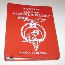 Tangier Womens Auxiliary Cookbook Omaha Nebraska 1984