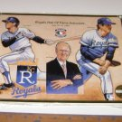 Upper Deck 1992 Roayls Hall of Fame Poster Joe Burke Fred Patek Larry Gura