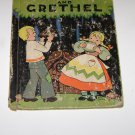 HANSEL AND GRETEL  Illustrated by Bess Livings  1937 HC  1st Ed  Rand McNally