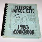 Peterson Jaycee Ette 1983 Cookbook Peterson Iowa