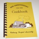 Calvary Gospel Assembly Church Estherville Iowa Cookbook 1982