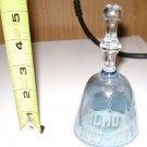Malmo Nebraska Glass Bell Centennial Souvenir 1887 - 1987