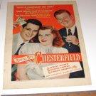 Perry Como Jo Stafford Arthur Godfrey Magazine Cigarette Ad 1947