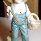 Huckleberry Finn Type Figurine