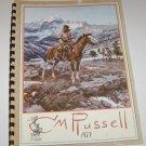 1977 CM Russell Print Calendar