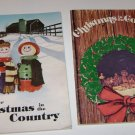 (2) Farm Wife News Christmas in the Country  1974 1976