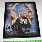 WWF Steve Austin 3:16 Framed Picture