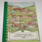 Holy Angels Catholic Church Cookbook  Basehor, KS 1985