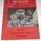 "1956 Ford Mechanic No 5 Feb ""Dual Carburetor Service"" Forum"