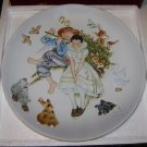 "Gorham Norman Rockell Fine China Collectibles ""Spring-Sweet Song So Young"" Plate"