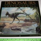 Landmark Calendars Dinosaurs of North America 1993 art by Eleanor M. Kish