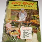 Big Boy Barbecue Book Cookbook 1960