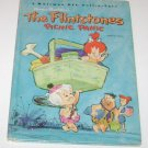 Whitman BIG Tell a Tale Flintstones Picnic Panic Hanna -Barbera's 1965 HC