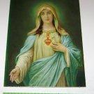 Virgin Mary Art Print D.A.C Litho NY