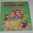 RAGGEDY ANN'S COOKING SCHOOL (1974) Whitman Tell-A-Tale book