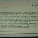 Danbury Mint Claddagh Pansy Bell 1992