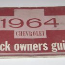 1964 chevrolet truck owners guide