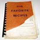 Saint Patricks Catholic Church Fremont Nebraska Cookbook 1950's ?