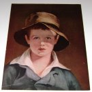 F.A Owens Print Art The Torn Hat by Thomas Sully