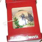 Hummelwerk 1979 Flight Into Egypt Glass Ball Ornament 1st Annual Edition BOX