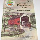 Official Pennsylvania Dutch Travel Guide Book Lancaster County 1972