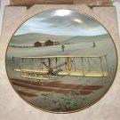 "American Heritage Fine China Plate ""Kitty Hawk"""