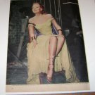 Linda Darnell Look Magazine Full Page Photo 1947