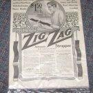 Vintage Advertisement Zig Zag Stropper Saturday Evening Post