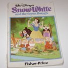 Fisher Price Snow White and the Seven Dwarfs Childrens Book