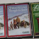 Lot of 3 Readers Digest Christmas Music Cassette tapes