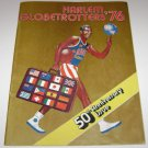 Harlem Globetrotters 76 50th Anniversary Issue Magazine 1975