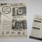 Vintage Instructions for Coffing combination hoist, jack, and wire stretcher