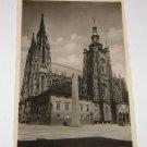 Vintage Postcard Prague Czech Church of St. vita