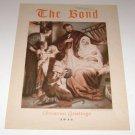 "The Bond Lutheran Publication 1944 ""Joseph & Mary Jesus"" cover"