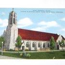 Vintage Postcard Dowd Memorial Chapel Boys Town Nebraska