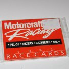 Trading Cards Ford Motorcraft Racing 1992