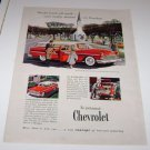 Bel Air Beauville Station Wagon 1955 Magazine Advertisement