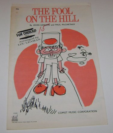 The Fool on the Hill Lennon McCartney Comet Music Corp