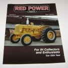 RED POWER IH & Farmall Enthusiasts Magazine march april 2011