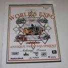 World's Expo of Antique Farm Equipment Program Guide Ankeny Iowa 1999