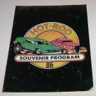 1986 Hot Rod Souvenir Program