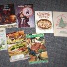 Assortment of Holiday Mini Cookbooks